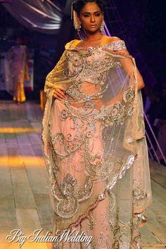 Suneet Varma couture saree