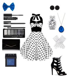 """Perdita dapper day"" by crystalgems125 ❤ liked on Polyvore featuring NARS Cosmetics, sweet deluxe, Ippolita, Victoria's Secret, Furla and Black"