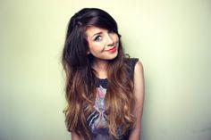 Zoella!  <3 hair