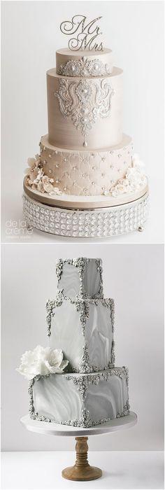 baroque wedding cake #weddings #weddingideas #weddingcakes #cakes #vintageweddings