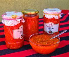 Székely Konyha: Paszulyos zakuszka Salsa, Cooking Recipes, Mexican, Jar, Canning, Ethnic Recipes, Food, Automata, Gravy