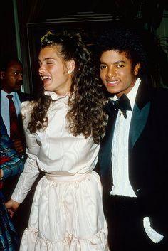 Brooke Shields & Michael Jackson