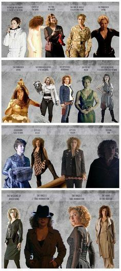The Outfits of River Song