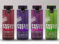 Packaging Mock Up Juice or Smoothies Bottle Mock Up
