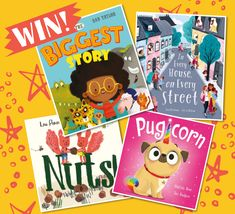 Storytime runs a kids competition each month where you can our brilliant Books of the Month and more! Enter today to be in with a chance of winning. Competitions For Kids, Picture Books, Story Time, New Pictures, Authors, Illustrators, Games, Amazing, Illustrator