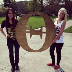 Kappa Alpha Theta at Oregon State University #KappaAlphaTheta #Theta #letters #sparkle #sorority #OSU