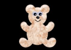 Teddy Bear Clipart | Jewels Art Creation