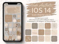 Nude Aesthetic IPhone iOS 14 App icons Theme Pack Cream Beige | Etsy Apple Tv, Apple Watch, Evernote, Lightroom, Facebook Messenger, Fitbit, Iphone Widgets, App Store, Google Drive
