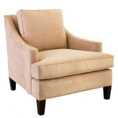 """Manchester Chair Ballard design Manchester Chair Item: UC033 $759.00 - $1,221.00 Dimensions: Overall: 35""""H X 35""""W X 36""""D Seat: 21""""H X 25""""W X 20""""D Arms: 23""""H Legs: 6""""H Construction: Construction of hardwood frame with down blend filled cushions. Country of Origin: USA Additional Information: Spot clean."""
