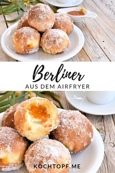 Berliner aus dem Airfryer mit köstlicher Aprikosen-Marzipan-Konfitüre The Effective Pictures We Offer You About air frying squash A quality picture can tell you many things. Cooking Chef Gourmet, Kenwood Cooking, Cooking Recipes, Healthy Eating Tips, Healthy Nutrition, Graham, Pain Burger, Actifry Recipes, Naan Recipe