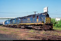 RailPictures.Net Photo: D&H 452 Delaware & Hudson Alco C424 at Binghamton, New York by Doug Lilly