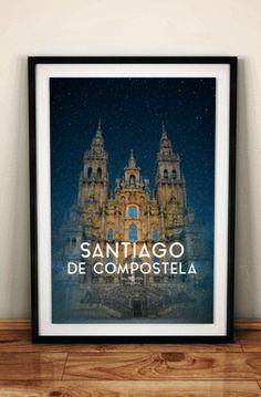 Santiago de Compostela. Galicia. Spain.