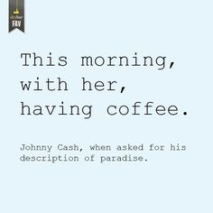 Now that I'm a coffee drinker, my sweet Husband makes me coffee every morning. ♥