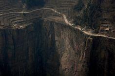 the cliffs of Guoliang, Henan, China