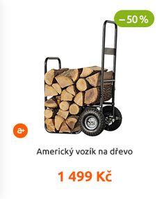 Americký vozík na dřevo