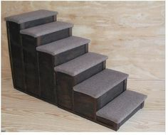 Merveilleux 24 Tall 36 Deep By 16 Wide6 Step Wood Dog Pet Steps By Mikeduffe, $119.99