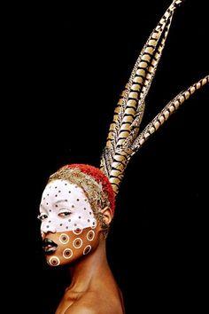 "artafrica: ""Barron Claiborne - AFROPUNK - Channelling the Ostrich- """