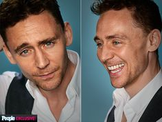 TOM HIDDLESTON He's off the hook! Hendricks's The Pirate Fairy costar, who's tapped to voice a young Captain Hook, leaves behind his villainous alter ego for his photo session.