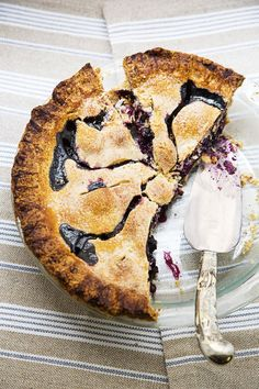 Blueberry Pie in an all-butter crust.