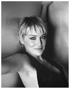 Sharon Stone by Sante D'orazio