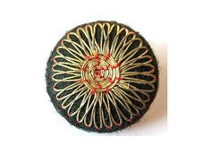 Embroidery button
