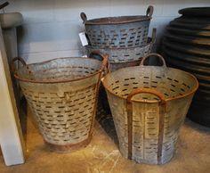 Vintage Olive Baskets | Online Garden Store