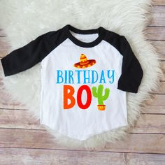 Birthday boy shirt- Fiesta version, Taco party, Uno party, mexican theme bday, sombrero shirt, funny fiesta party shirt, kids birthday Welcome to JADEandPAIIGE! Below is a list of sizing and washing instructions for our products!Please remember the ink is fresh, so please be cautious