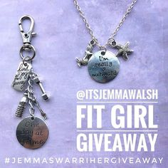 Only 3 days left to enter my #jemmaswarrihergiveaway  woooo!  --------------------------------- What you'll win:  This Fit Girl keychain to remind you to:  Find joy in your fit girl journey even when it gets tough know you have the strength to push through  Eat well & and workout 80% of the time .. no deprivation here  SDAC! Cause ya'all gotta keep hydrated.. Take it one day at a time.. some days we'll mess up some days we won't even want to get dressed and that's okay! There's ALWAYS a new…