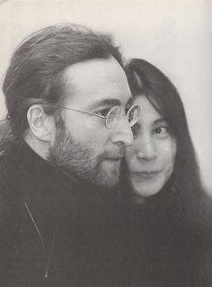 John Lennon and Yoko Ono...I believe they had a pure love affair♥ *