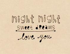 sweet dreams ~