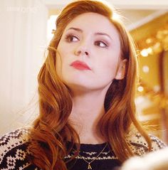 Amy Pond in 'The Doctor, the Widow, and the Wardrobe'. I just can never get over how pretty she is. (gif)