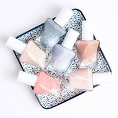 Up to 14 days of luxurious wear and gel-like shine with the new essie gel couture ballet nudes! No base coat. No UV / LED lights needed. Shop these stunning neutral shades here: http://www.essie.com/gel-couture/ballet-nudes.aspx