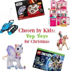 The Top Toys for this Holiday Season at Walmart! #ad #TheList #ChosenByKids | The TipToe Fairy