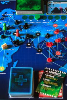 Pandemic a co-op board game!