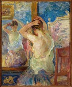 Woman Painting, Figure Painting, Berthe Morisot, Pierre Auguste Renoir, Edouard Manet, Modern Impressionism, Edgar Degas, Paul Gauguin, Henri Matisse