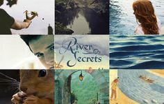River Secrets // Shannon Hale Books of Bayern collage 3
