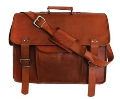 Hlc 18' Vintage Ship Leather Messenger Satchel Laptop Briefcase Men's Bag Crazy Vintage Leather Messenger... >>> Check out this great product. (This is an Amazon Affiliate link and I receive a commission for the sales)