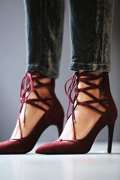 Jeffrey Campbell  + Free People Womens Hierro Heel