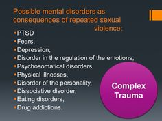Trauma as Pre-condition and Consequence of Prostitution. Trauma, Ptsd, Mental Disorders, Physics, Drugs, Depression, Addiction, Conditioner, Eat