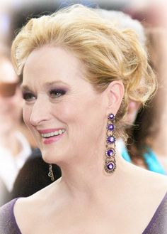 Meryl Streep at event of The Annual Academy Awards Grace Gummer, Emma Thompson, Mature Fashion, Best Actress, American Actress, Actors & Actresses, Female Actresses, Role Models, Movie Stars