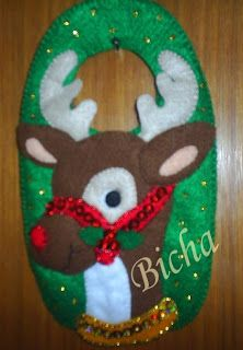 **Manualidades de Bicha**: Manillero Rudolf