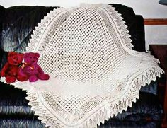 Loop Baby Blanket Knitting Pattern