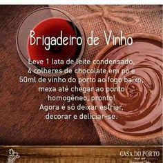 #brigadeiro #de #vinho #chocolate