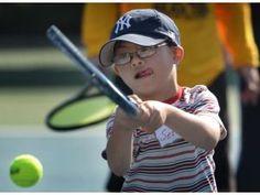 Tennis program benefits special needs kids