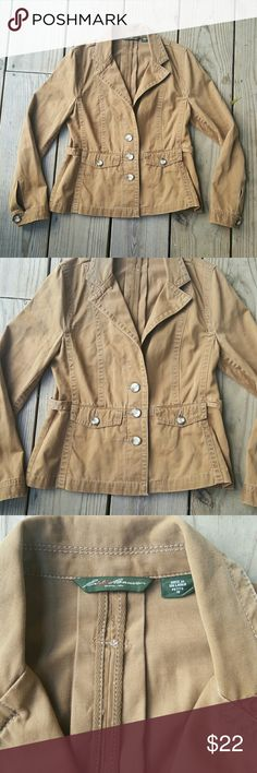 Cute Eddie Bauer jacket Cotton, Petite 10 Eddie Bauer Jackets & Coats