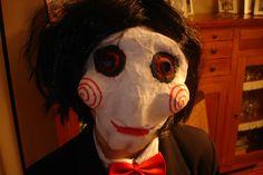 SOPA AZUL: Máscara casera de Saw