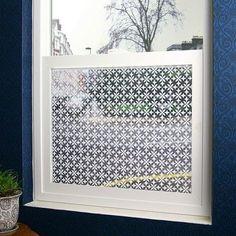 "Odhams Press Fleur Sheer Window Film Size: 48"" x 84"""