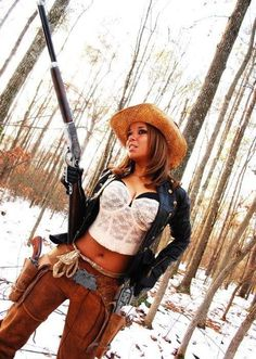 Sexy women who hunt