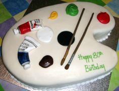 The Artist's Cake