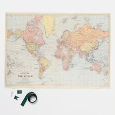 DIY Travel Map Kit in House+Home HOME+DÉCOR Wall Décor Art+Accents at Terrain (68)